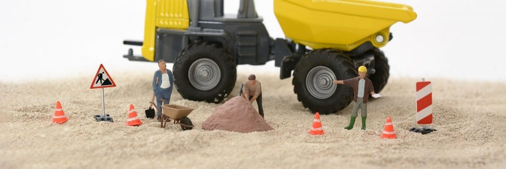 site, construction workers, build